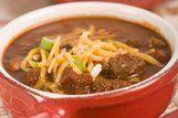 Carne cozida com feijão