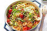 Espaguete de camarão Picante
