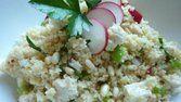 Salada de frango com cuscuz
