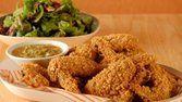 Asas de frango crocante
