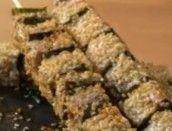 Espetinho Japonês de Atum e Algas
