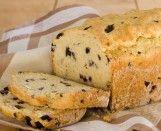Pão Rápido de Alho e Azeitonas