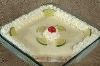 Pavê de coco com limão