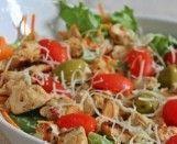 Salada de Frango e Sal de Ervas