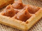 Waffle com Doce de Leite