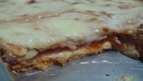 Sanduíche de forno com queijo