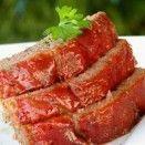 Pão bolo de carne moída