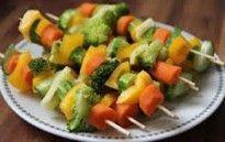 Espetinhos de Legumes Light