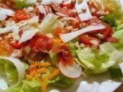 Salada Crocante com Presunto de Parma e Castanha