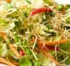 Salada Verde com Kani - Kama