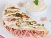 Sanduíche natural com presunto e queijo