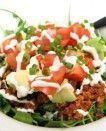 Salada mexicana de carne