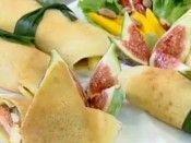 Panquecas de salmão