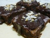 Brownies Picantes de Chocolate e Nozes