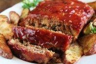 Bolo de pão de carne moída