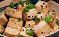 Tofu Assado com Saquê